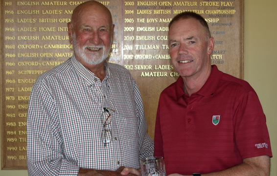 Graham Miles, Boughton GC, Winner of Age Group 'A'