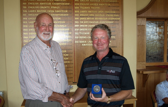 Bruce Hilsdon Littlestone GC, Runner -Up and Winner of the Silver Medal