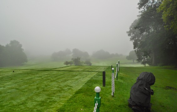 Misty Start 2nd Day - 1st Tee