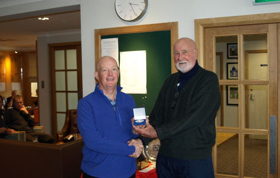 Billy Mitchell, Hankley Common GC, Silver Medal