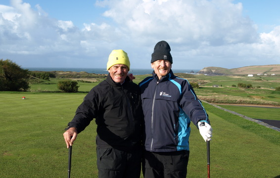 John Fulton, Woburn GC and Chris Buckley, St Mellons GC